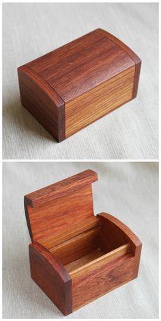 Mini Rosewood Storage Box Jewelry Chest Medicine Chest Headset Box Bubinga Case Trinket Box Walnut Wooden Box Storage Supply on Etsy, $19.50