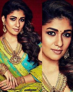 Is Nayantara The Best Dressed Style Icon Of South Cinema? Nayanthara Hairstyle, Farewell Dresses, Royal Beauty, Elegant Saree, Yellow Shirts, India Beauty, Girl Crushes, Indian Actresses, My Girl