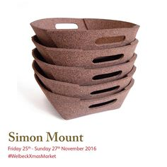 Join Simon Mount in his studio during Utilising as his signature material, he places utmost importance on using ecologically sound, sustainable and natural materials to create his work. Christmas Art, Christmas Shopping, Art Market, Natural Materials, Cork, Studios, Create, Places, Instagram Posts