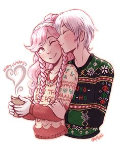 "rubiarts: ""Happy Holidays @dragonxtoy !!! I'm your secret santa for the @fatesandawakeningss2k16 gift exchange! Hope you have a wonderful day~ """