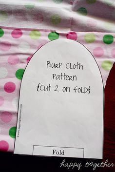lots of patterns for baby items - burp cloths, bibs...by ohsohappytogether, via Flickr