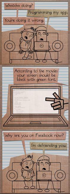 Programming according to movies