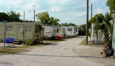 Setting - This is the trailer park Opal, the preacher, and Winn Dixie call home. The characters spend a great deal of time here. It is clearly visible that the town of Naomi, Florida is somewhat impoverished.