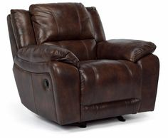 Flexsteel Furniture: Latitudes: BreakthroughLeather Glider Recliner (1231-54)