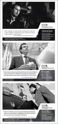 ESADE BS. Programas MBA. Campaña Challenging vision. / Road Publicitat