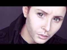 Dean Winchester (Supernatural) makeup tutorial by Anastasiya Shpagina - YouTube…