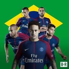 Its a Brazilian affair at PSG