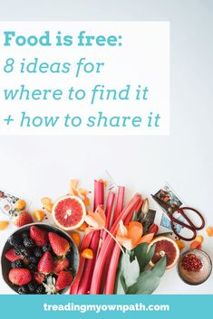 Food is free: 8 ideas for where to find it and how to share it - Lindsay (Treading My Own Path) - conscious Little Free Pantry, Built In Pantry, Waste Reduction, Green Living Tips, Apple My, Little Free Libraries, Food Swap, Transition Town, Food Waste