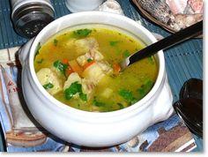 LEICHT UND GUT  Schnelle Fisch-Gemüse-Suppe