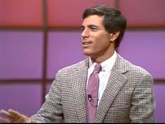 "In the 1980s game show host category, the award for hottie of daytime goes to ""Press Your Luck"" host Peter Tomarken."
