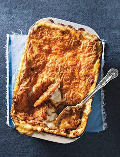Die geheim van lasagne is die vleisbasis. Die res is baie maklik en min werk.