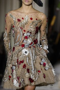 New Ideas embroidery fashion detail inspiration haute couture Haute Couture Style, Spring Couture, Couture Details, Fashion Details, Fashion Design, Couture Ideas, Elie Saab Couture, Couture Embroidery, Embroidery Fashion