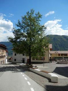 #Trentino #Italy #Onda range with levelling system. #marble. #Bellitalia very elegant street furniture solutions