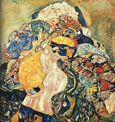 Baby  1917-18 - Gustav Klimt