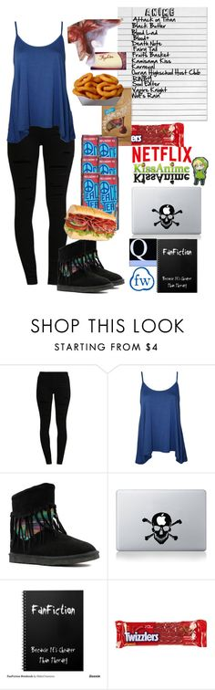 """""""Day 85-100 day Challenge"""" by destiny-demon ❤ liked on Polyvore featuring even&odd, WearAll, Lamo, Vinyl Revolution, River Island and Lindt"""