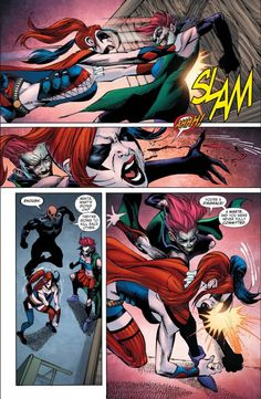 Harley Quinn VS The Joker's Daughter 1