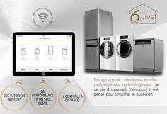 Whirlpool lance une gamme de 4 appareils connectés