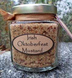 Irish Oktoberfest Mustard Recipe (uses Guiness Beer, hence the 'Irish')