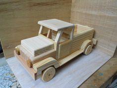 pick-up-de-madeira-grande-carrinho-de-madeira.jpg (580×435)