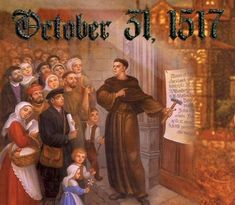 Reformation Day FUN!   Reformation Lady -- activities and ideas for a reformation day party