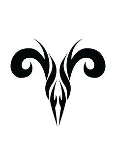 Aries tattoo.