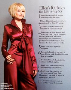 Love her. Desire to Acquire: style crush: Ellen Barkin!