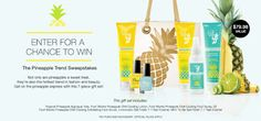 Mary McQuain - Beautiful You, Beautiful View: Avon's Pineapple Trend Sweepstakes!  Go to youravon.com/mmcquain to enter to win - no purchase necessary!