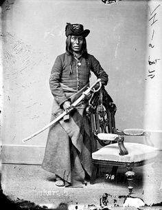 Длинный Нож, арикара. 1877