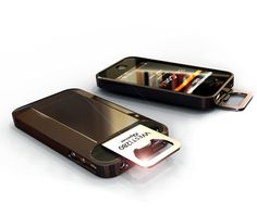Perfect for beeraholics~~! Iphone cover with beer bottle opener! West|280 iOpener™ www.west280.com