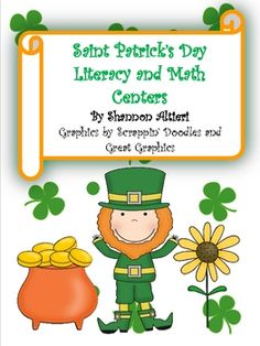 This Saint Patrick's Day Literacy Unit contains 6 literacy activities and 4 Math activities. All activities are colorful, educational, and most imp...