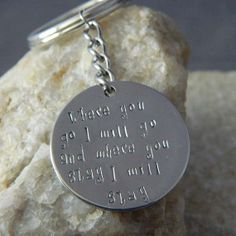 Where you go I will go and Where you stay I will by WireNWhimsy, $24.00
