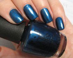 O.P.I Unfor-Greta-Bly Blue