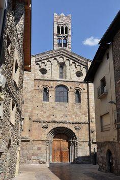 Catedral de Santa Maria. La Seu d'Urgell. Alt Urgell. Catalonia
