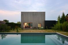Villa B in Lyon / by Tectoniques Architects (photo by Erick Saillet)