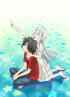 Anohana and Jintan <3
