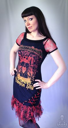 Nightmare+Before+Christmas+spider+web+dress++by+smarmyclothes,+$99.00