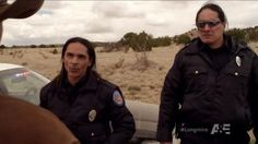 Longmire show with Reservation Indian Police