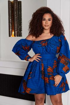 Limited Kia African Print Dress by grass-fields - Short dresses - Afrikrea Short African Dresses, Latest African Fashion Dresses, African Print Dresses, African Print Fashion, Short Dresses, African Dress Styles, Modern African Fashion, Best African Dress Designs, Moda Afro