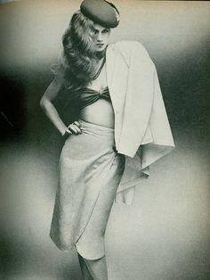 Fashion for Harper's Bazaar, 1979.