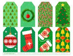 Green Christmas Gift Tags