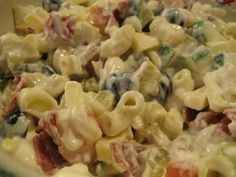 Pasta Salad, Food And Drink, Cooking, Ethnic Recipes, Koti, Drinks, Pineapple, Red Peppers, Crab Pasta Salad