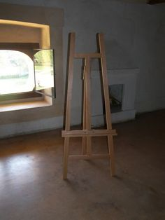 CAPPELLETTO LYRE EASEL EASELS HANDMADE IN ITALY