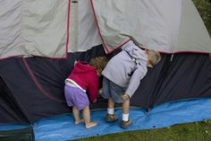 Camping for new parents - Keeping your baby or toddler comfortable while camping