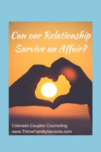 """""""There's been an affair - can our relationship survive?"""" Hope & ideas on what to do to stay together."""