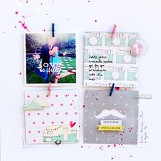 Love is silly . Scrapbooking layout . Àurea Estellé