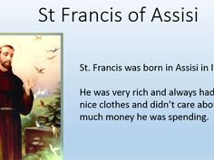 RE KS1/KS2 - Saint Francis of Assisi