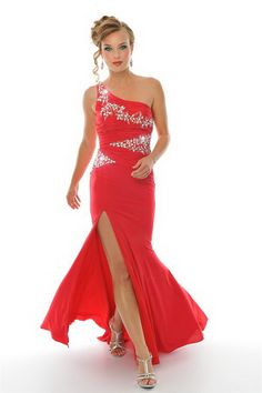 Red Prom Dresses 2012