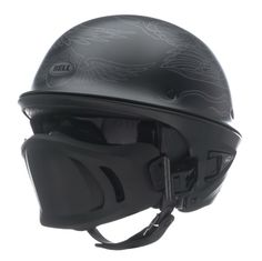 Bell Rogue Corey Miller War Eagle Half Helmet | 103-095 | J&P Cycles Chopper Helmets, Motorcycle Helmet Design, Custom Motorcycle Helmets, Custom Helmets, Motorcycle Style, Motorcycle Gear, Bicycle Helmet, Riding Gear, Riding Helmets