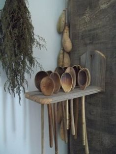 Old wooden spoons...one of my favorite things.