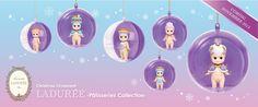 Série limitée Boules de Noël Ladurée 2015